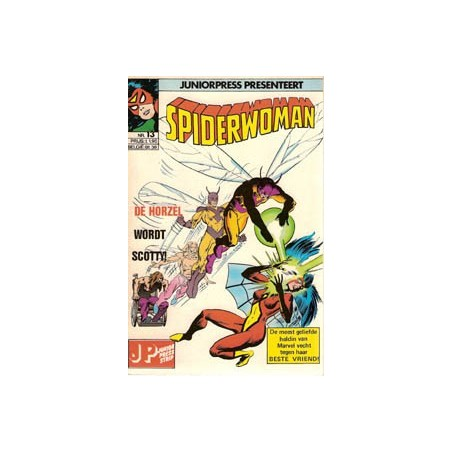 Spiderwoman 13 De horzel wordt Scotty! 1983
