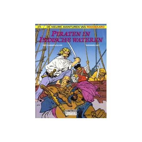 Roodbaard 25 Piraten in Indische wateren 1e druk 1991