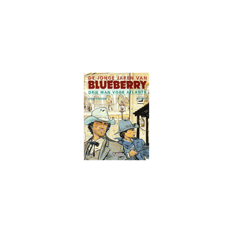 Blueberry Jonge jaren 08 - Drie man voor Atlanta 1e druk