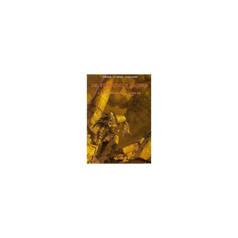 Vloek van Amber 04 HC De woestijn van Akaba