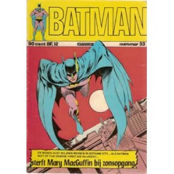 Batman Classics 033<br>Sterft Mary MacGuffin bij zonsopgang
