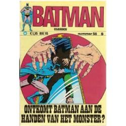Batman Classics 056 Ontkomt Batman aan het monster?