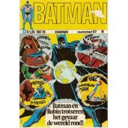 Batman Classics 057 Trotseren het gevaar de wereld rond