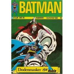 Batman Classics 059 Dodenmasker plus Robin