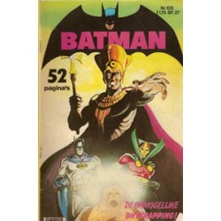 Batman Classics 109 De onmogelijke ontsnapping!