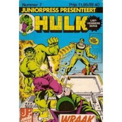 Hulk Liefhebbers Serie 07 Wraak 1984