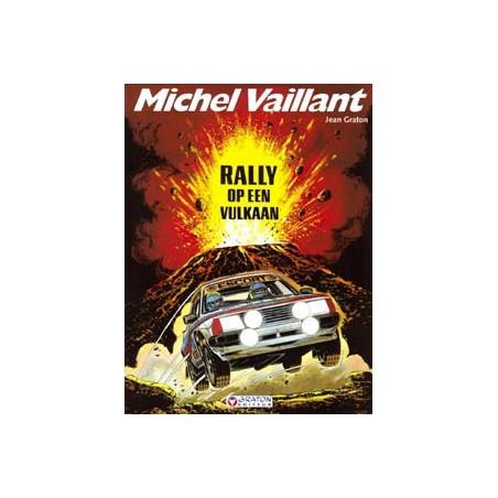 Michel Vaillant 39 Rally op een vulkaan herdruk