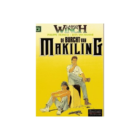 Largo Winch  07 De burcht van Makiling