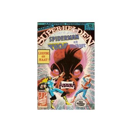 Super-helden 13 Spiderman, Thor en de Walkure 1983
