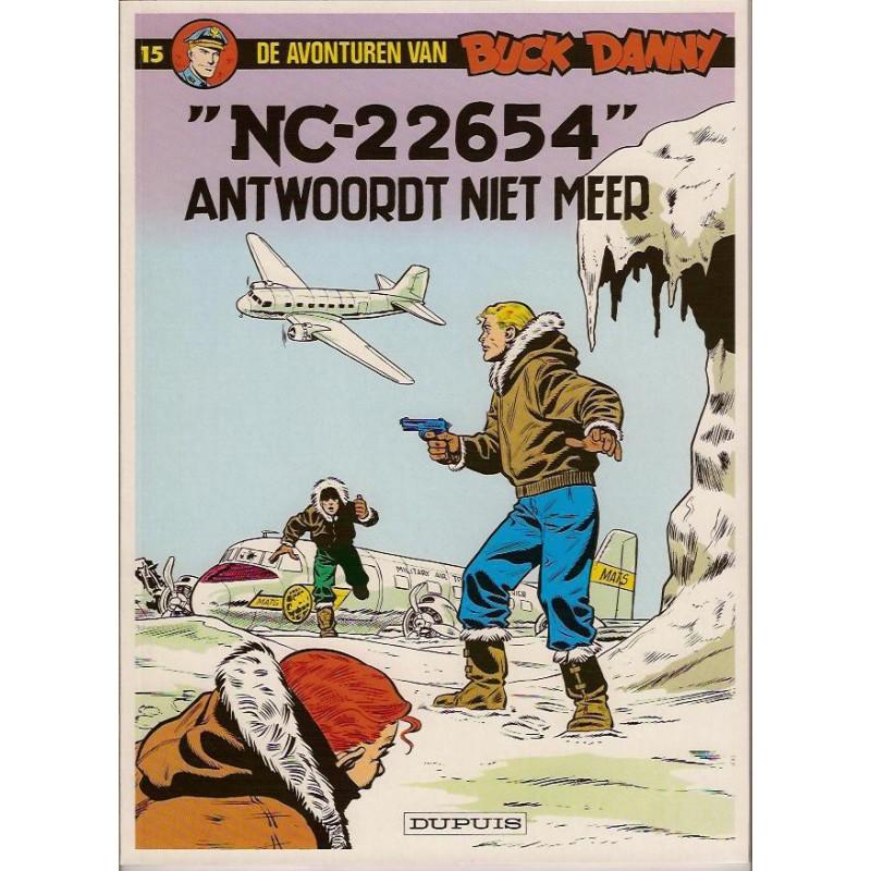 Buck Danny 15 - NC-22654 antwoordt niet meer herdruk