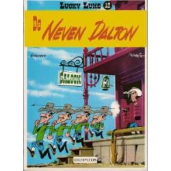 Lucky Luke<br>12 - De neven Dalton<br>herdruk