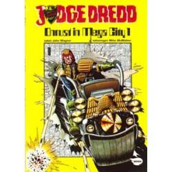 Judge Dredd 01 Onrust in Mega City 1 1e druk 1982