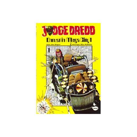 Judge Dredd album 01 Onrust in Mega City 1 1e druk 1982