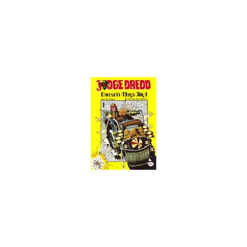 Judge Dredd setje Deel 1 & 2 1e drukken 1982-1983