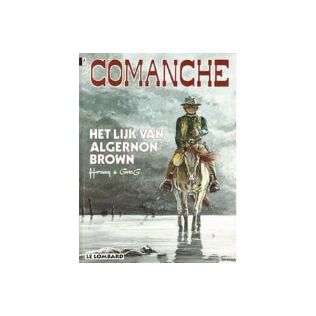 Comanche 10 Het lijk van Algernon Brown herdruk