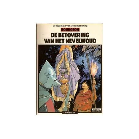 Gezellen van de schemering 1 Betovering van het Nevelwoud 1e druk 1984