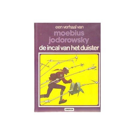 John Difool 01 HC Incal van het duister Auteursreeks 9 1e druk 1981