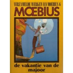 Verzamelde werken van Moebius 06 HC Vakantie van de majoor