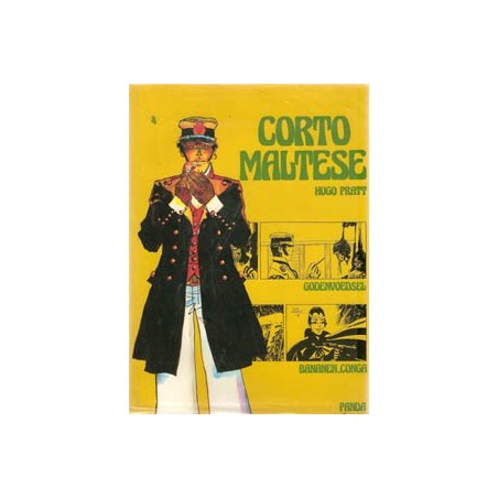 Corto Maltese P HC4 Godenvoedsel & Bananen-conga 1981