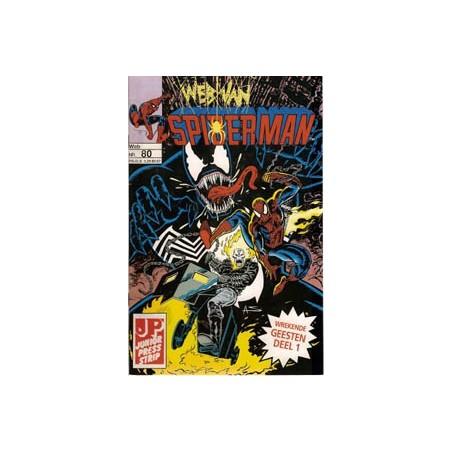 Web van Spiderman 080 Wrekende geesten deel 1 en 2 1993