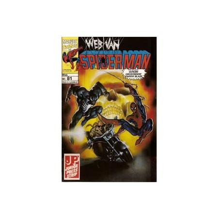 Web van Spiderman 081 Wrekende geesten deel 3 en 4 1993